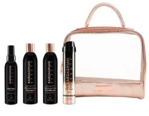 KARDASHIAN BEAUTY - ZESTAW LUXURY HAIR REJUVENATION KIT (ZŁOTY)